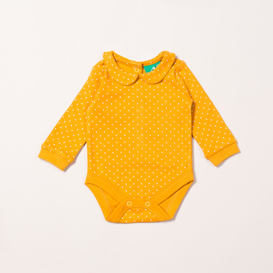 Gold Polkadot Baby Body