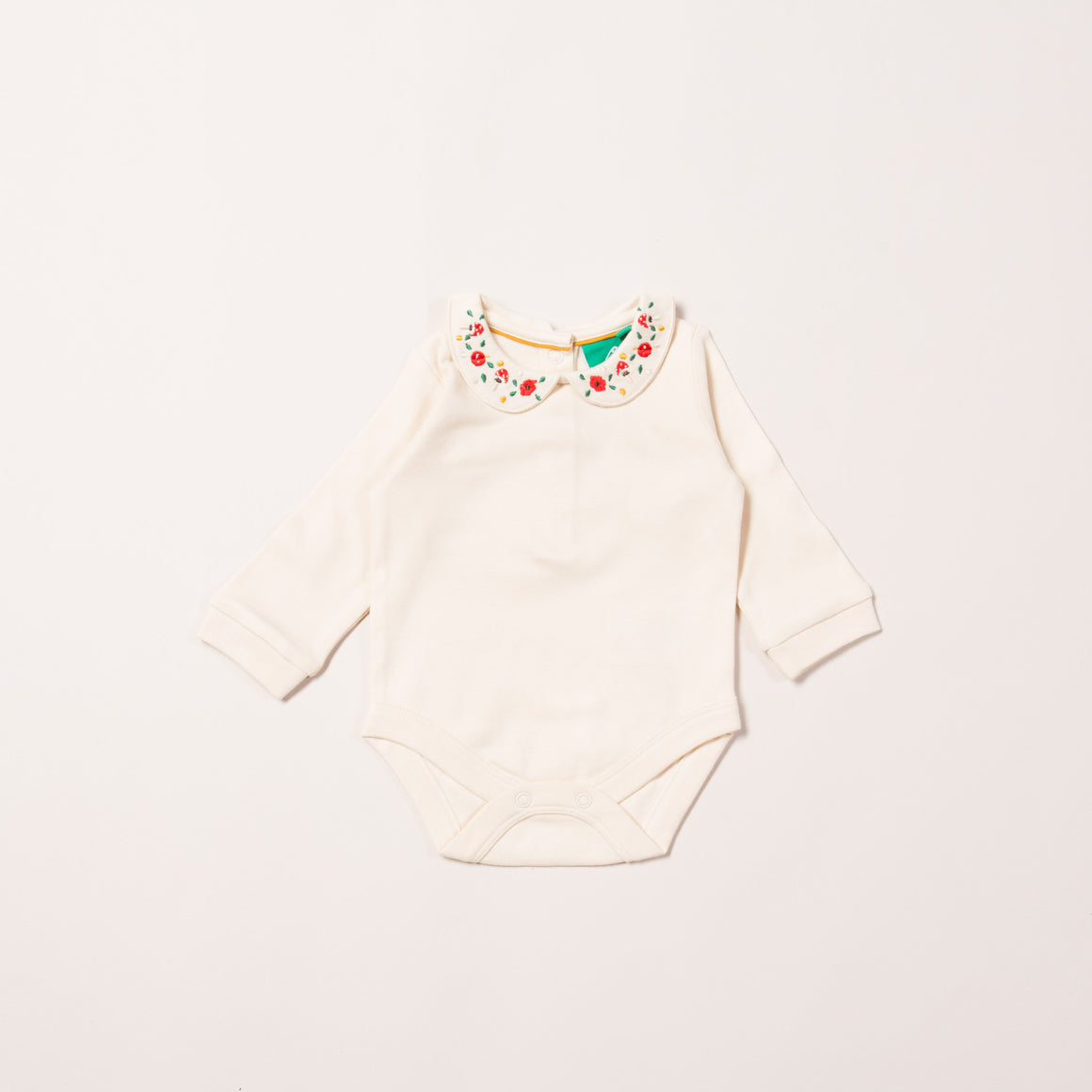 Toadstool Embroidered Baby Body