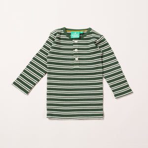 Vintage Green Stripes Forever Long Sleeve T-shirt