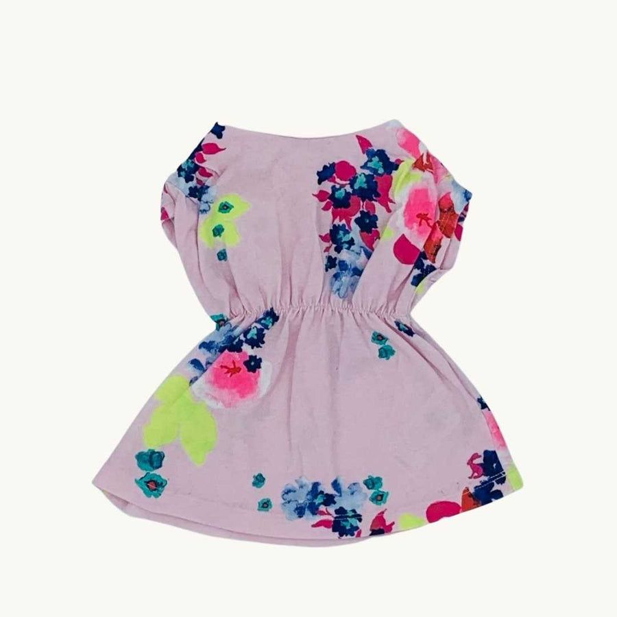 Gently Worn Joules flower dress size 0-3 months