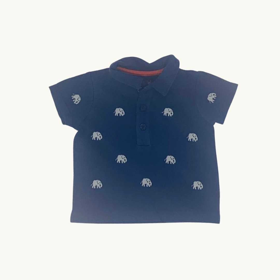 Gently Worn Boden polo shirt size 3-6 months
