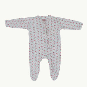 Gently Worn Cath Kidson flower sleepsuit set size 0-3 months
