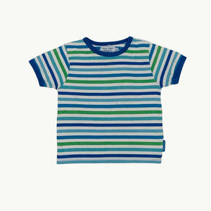 Gently Worn  Toby Tiger striped t-shirt size 5-6 years
