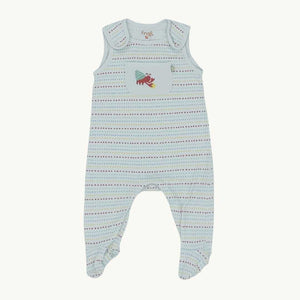 Gently Worn Frugi romper dungarees size 3-6 months