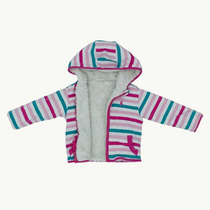 Gently Worn Joules reversible hoodie size 6-9 months