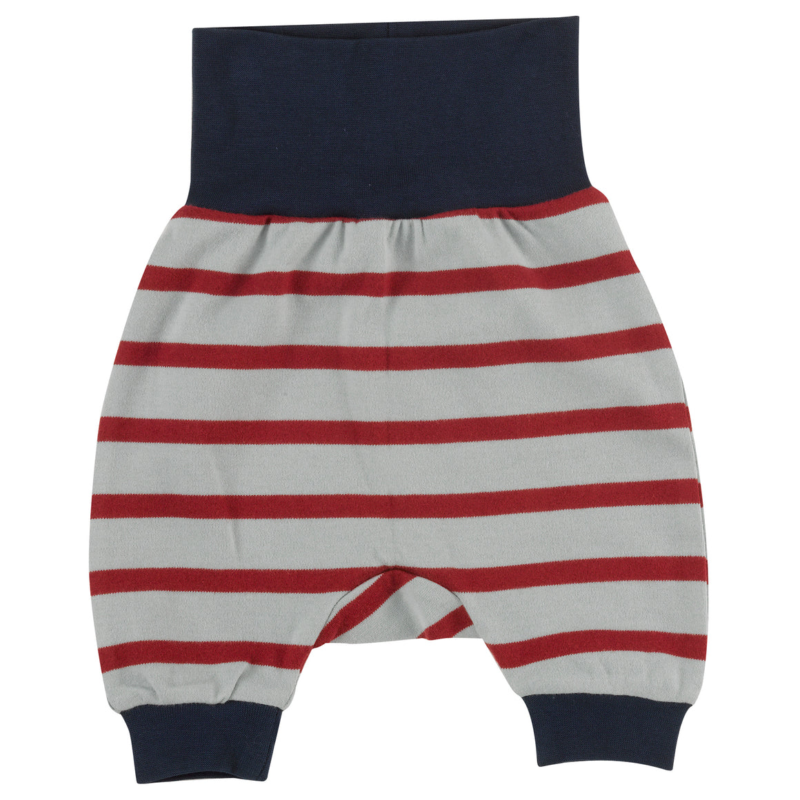Baby Joggers in Light Blue & Red stripe