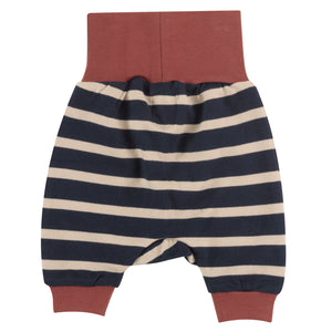 Baby Joggers in Ink Blue & Pumice stripe