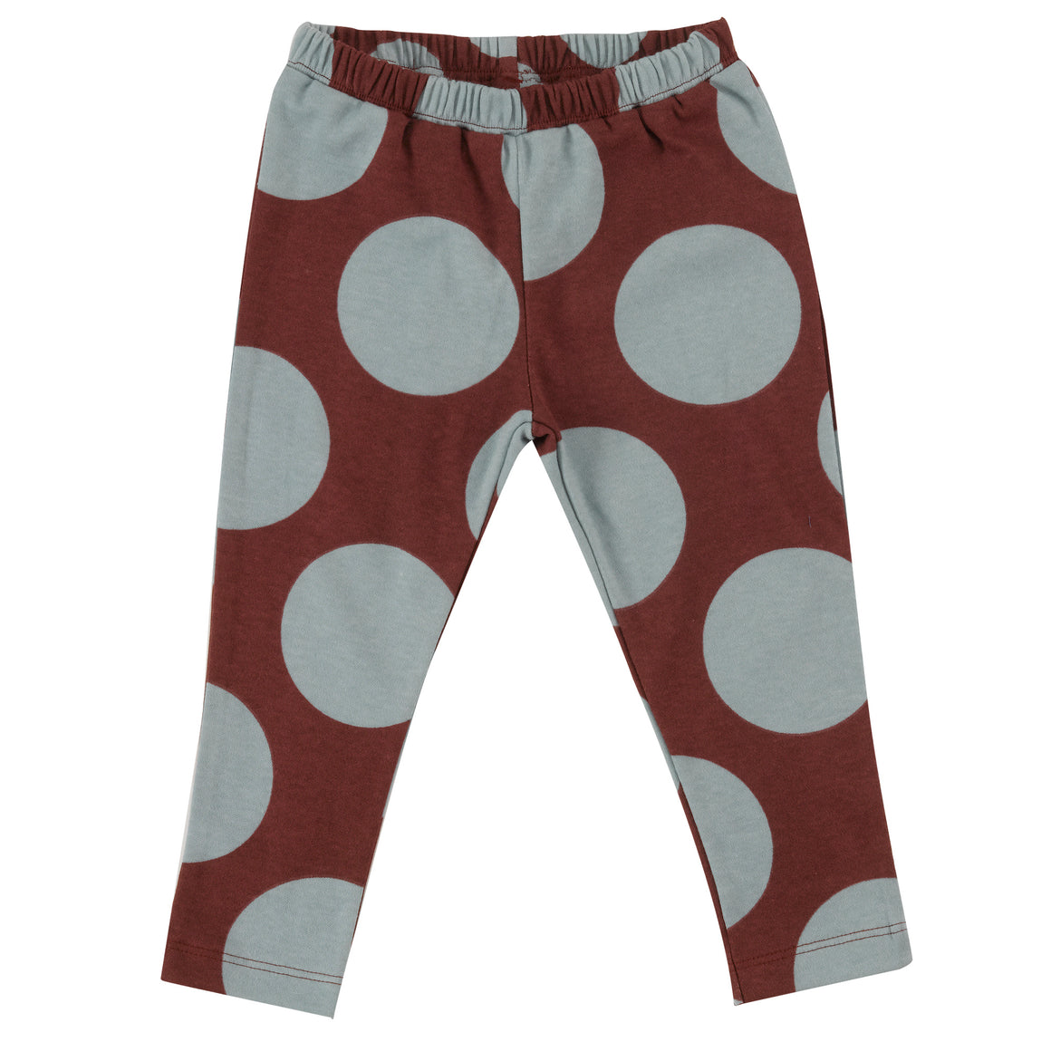 Leggings with Blue Surf & Spice giant spots