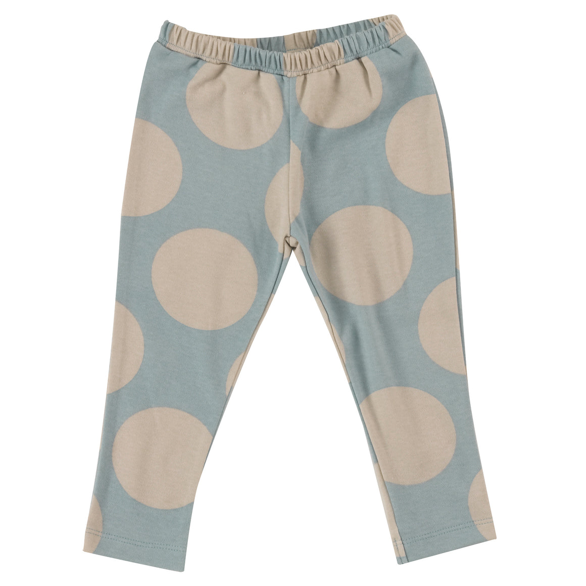 Leggings with Pumice & Blue Surf giant spots