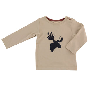 Long sleeve t-shirt with Moose print