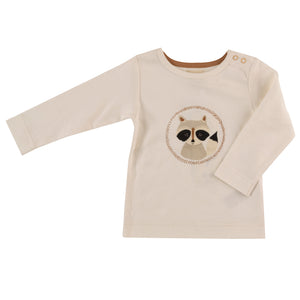 Long sleeve t-shirt with Racoon print
