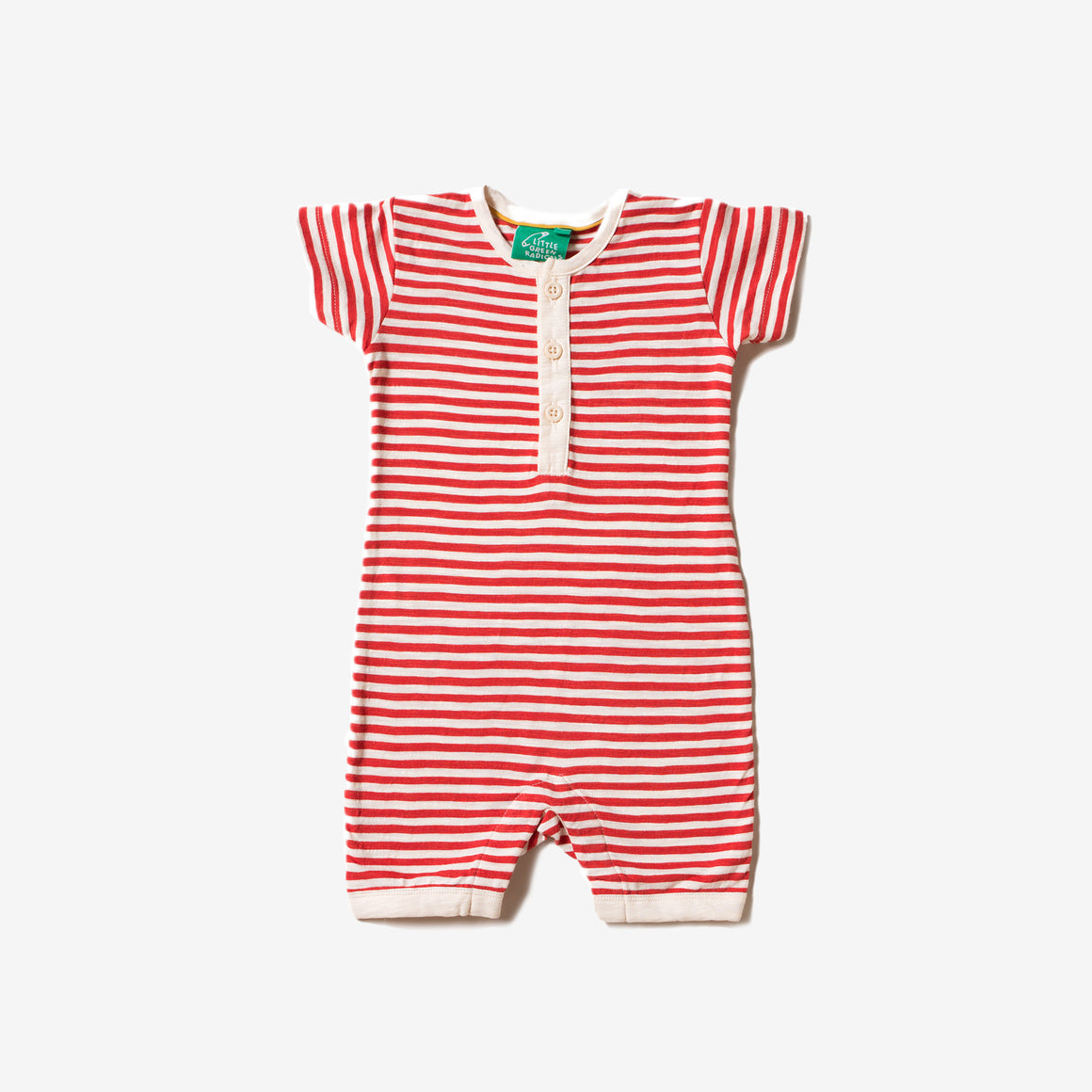 Red Stripe Summer Shortie