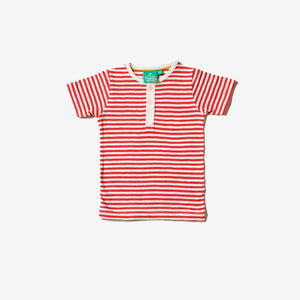 Red Stripe Short Sleeve Everyday Tee