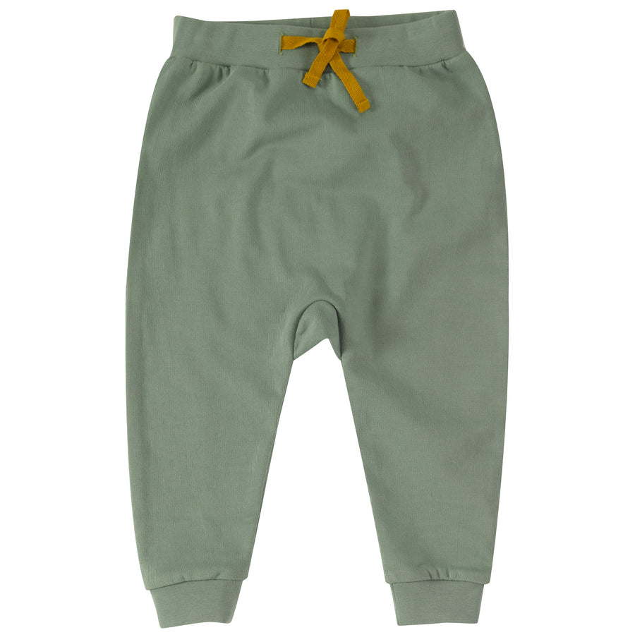 Jersey Joggers in Green