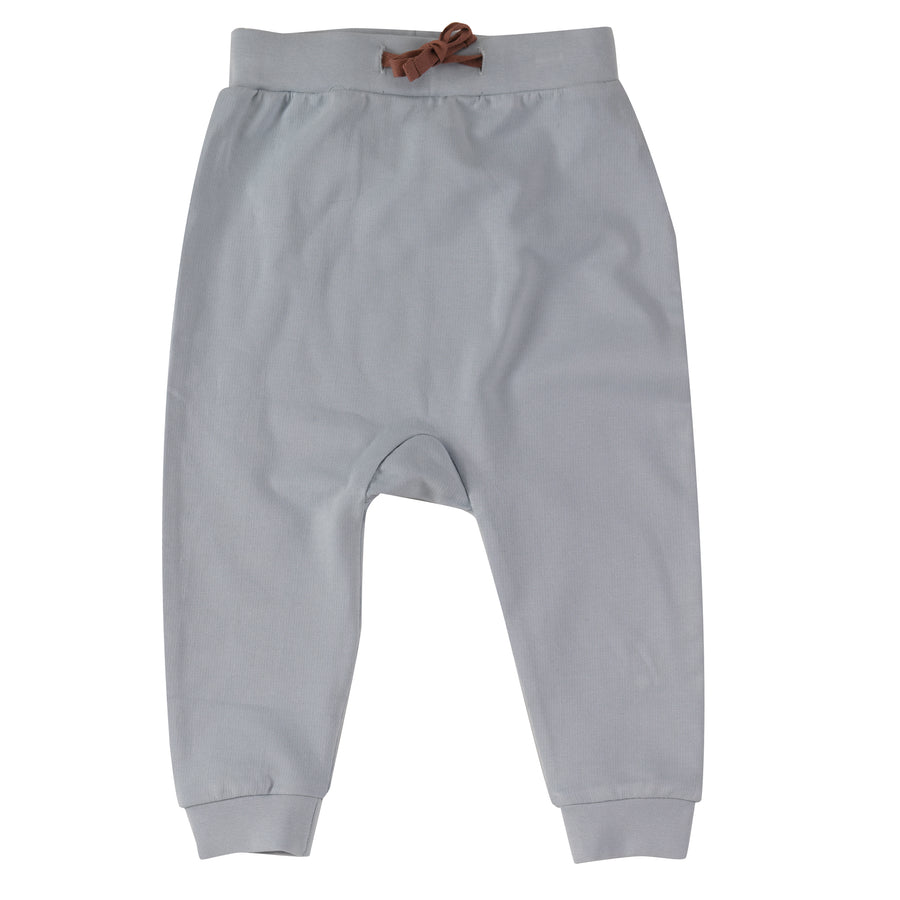 Jersey Joggers in Pale Blue