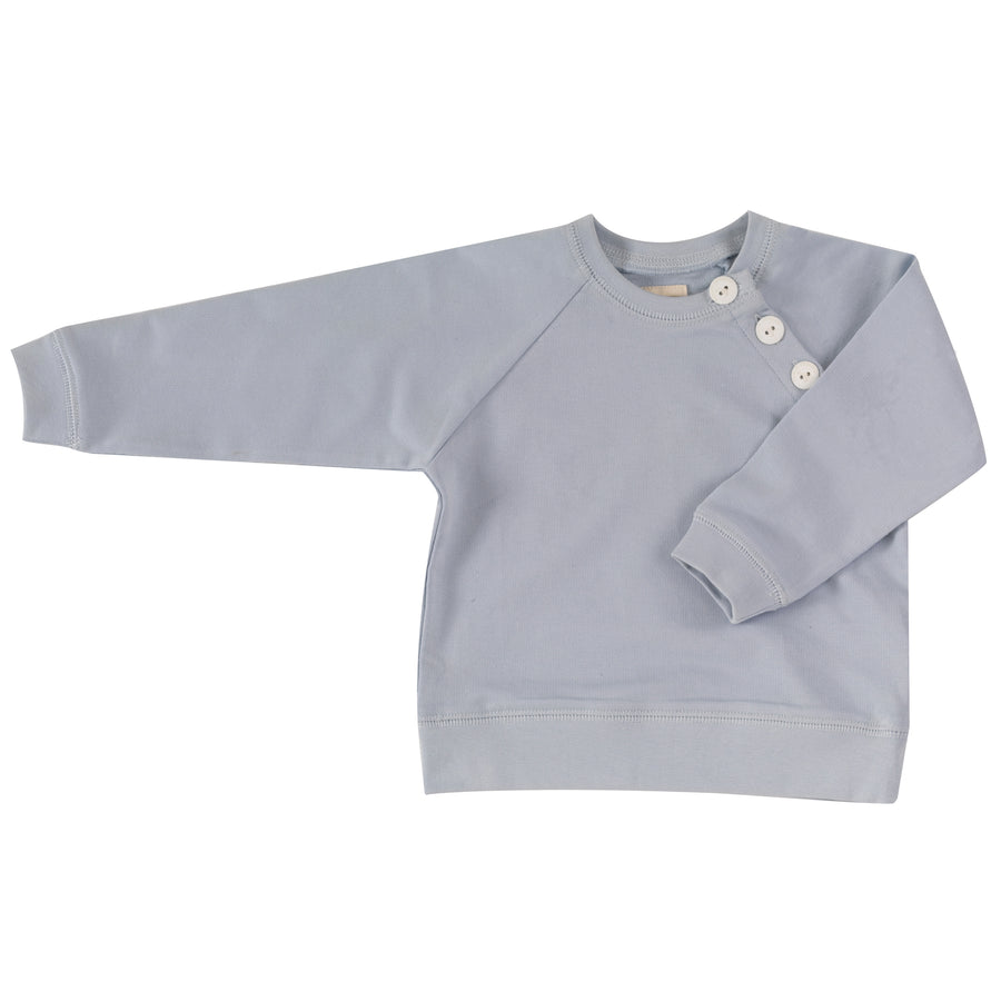Summer Sweatshirt in Pale Blue