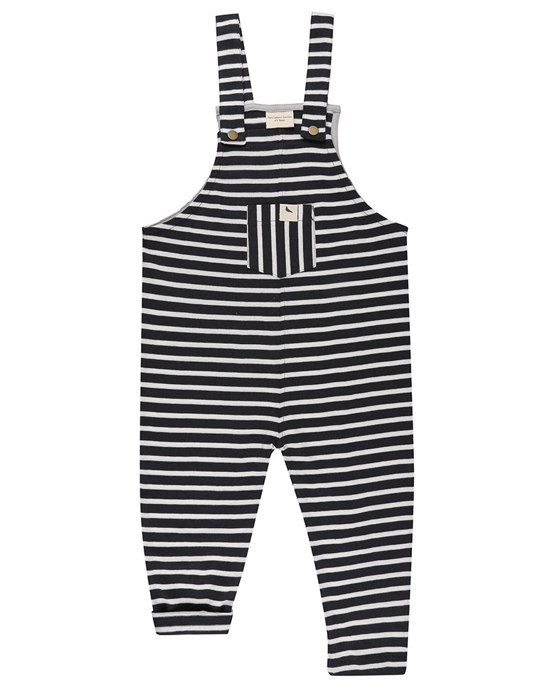 Summer stripe easy fit dungarees