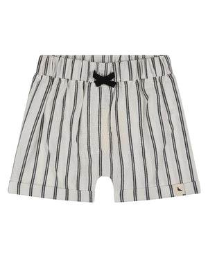 Wide stripe shorts