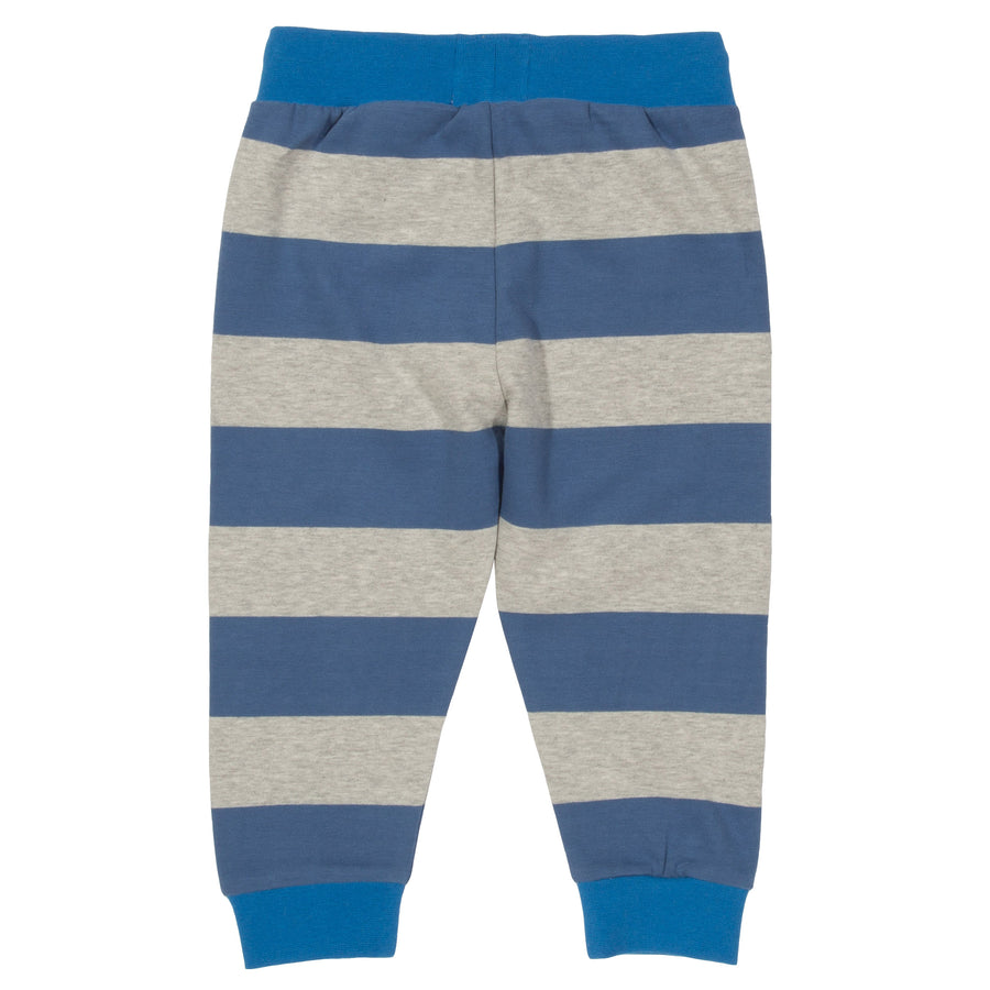 Wide stripe joggers