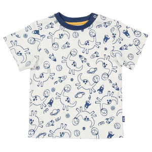 T-Shirt with Dino-sphere print