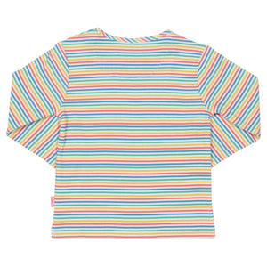 New Kite rainbow top size 3-6 months