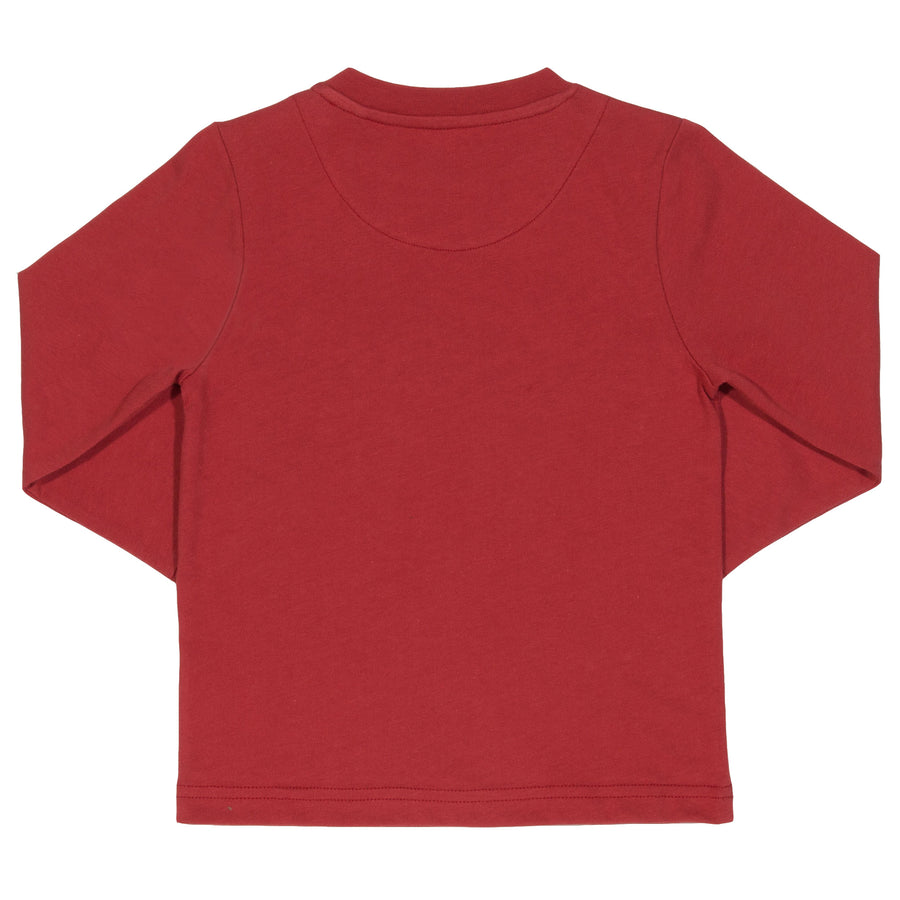 Appliqué Choo choo long sleeve T-Shirt
