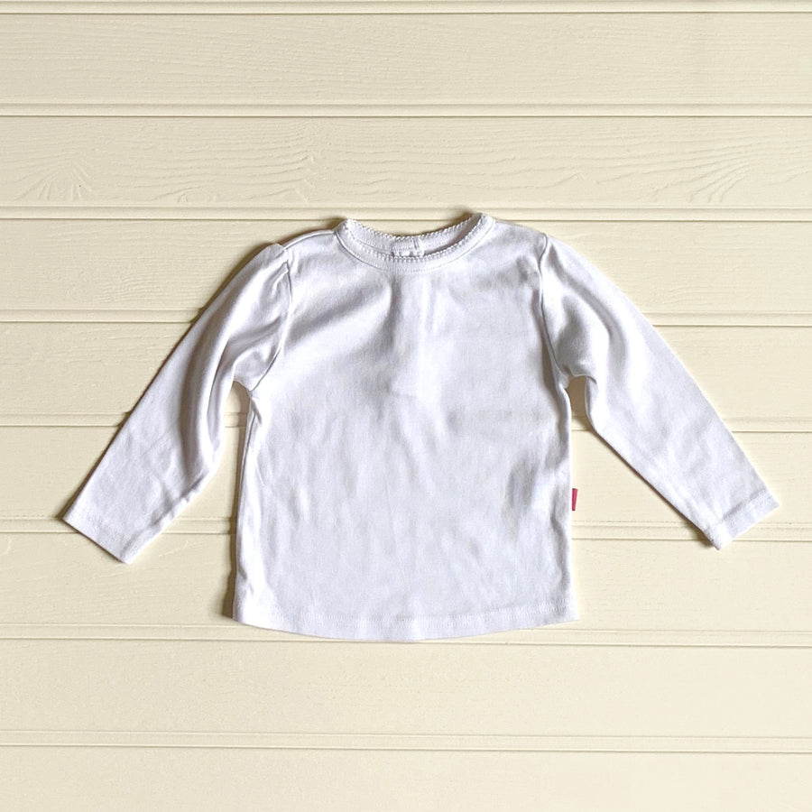 Hardly Worn JoJo Maman Bebe girls top size 12-18 months