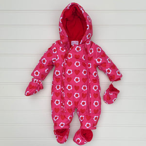 Hardly Worn Toby Tiger Pramsuit size 3-6 months