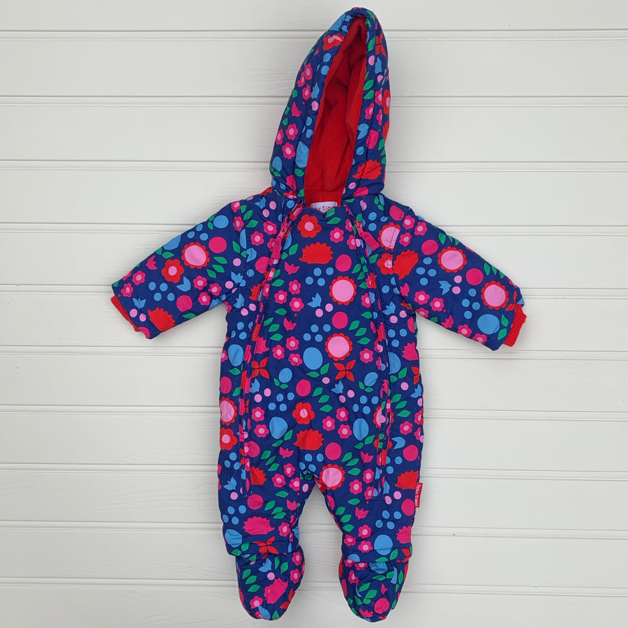 New Toby Tiger pramsuit size 0-3 months