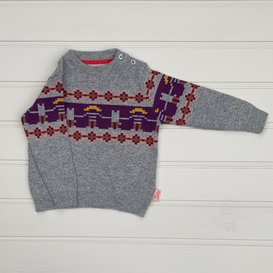 New Tootsa MacGinty wool-blend sweater size 12-18 months