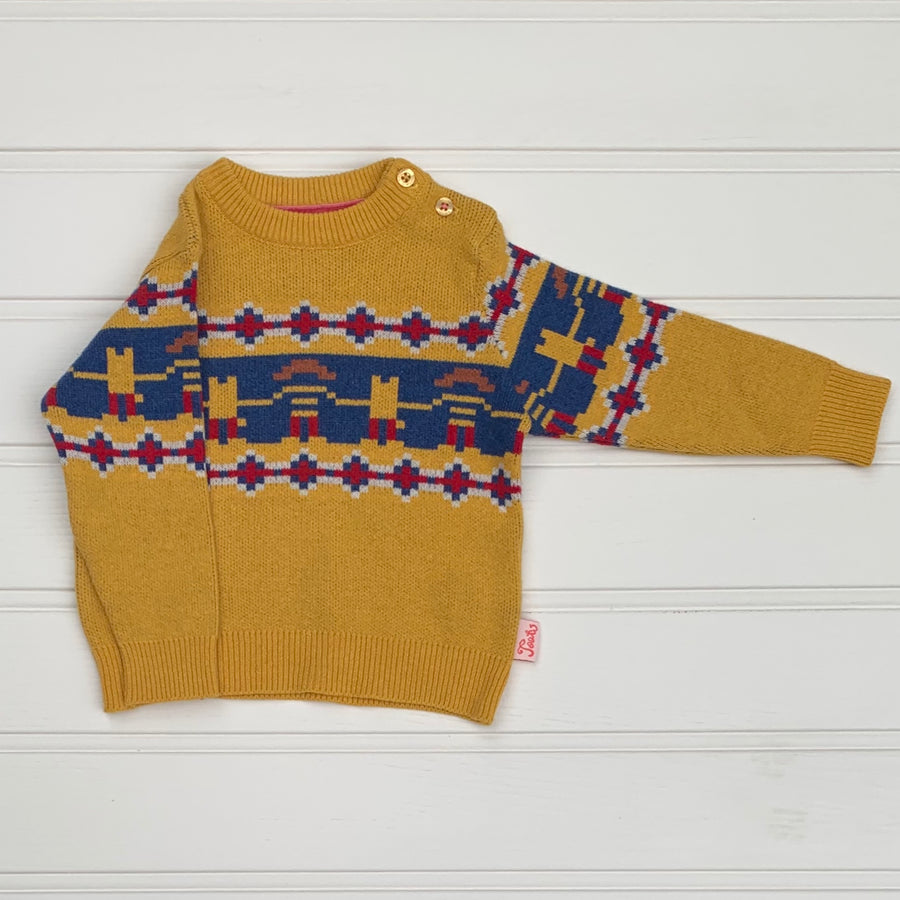 Hardly Worn Tootsa MacGinty wool-blend sweater size 6-12 months