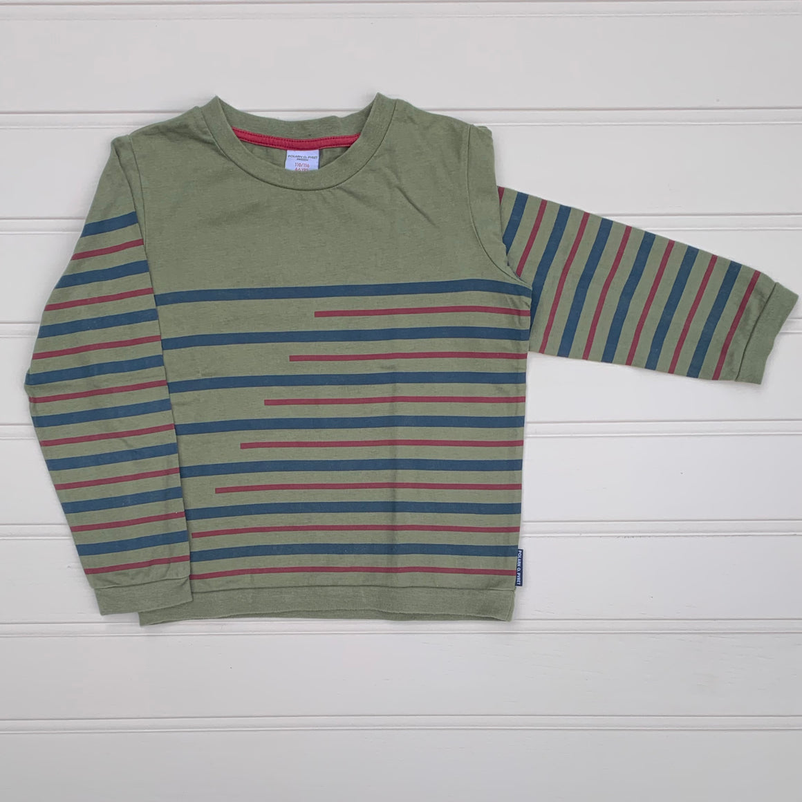 Hardly Worn Polarn O Pyret long-sleeve top size 4-6 years