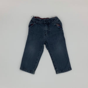 Gently Worn  Polarn O Pyret jeans size 9-12 months