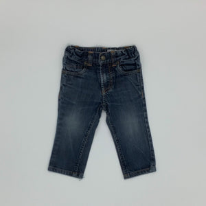 Hardly Worn  Polarn O Pyret jeans size 9-12 months