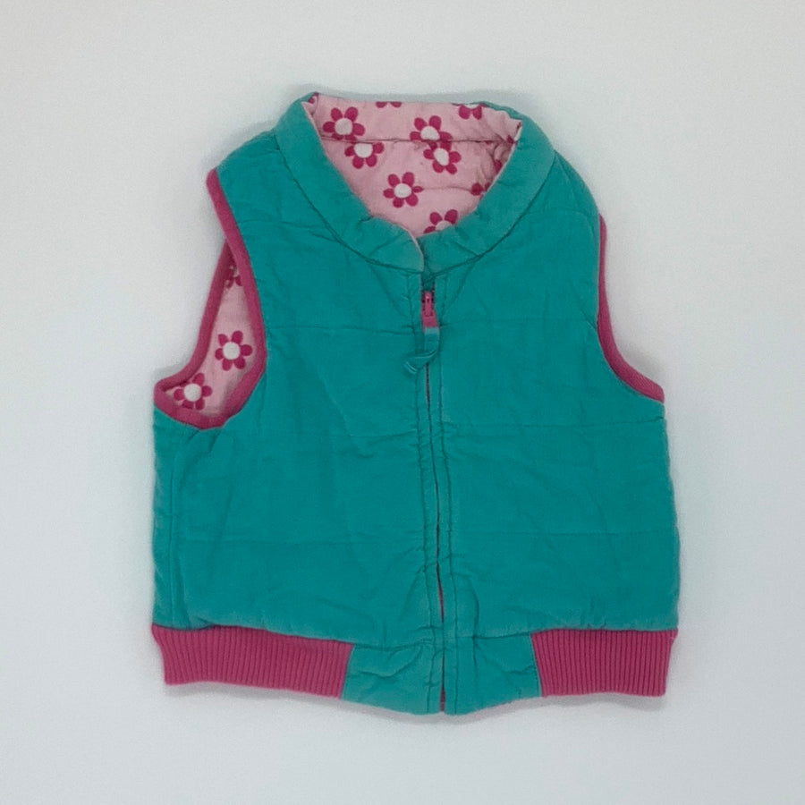 Hardly Worn Toby Tiger gilet size 5-6 years