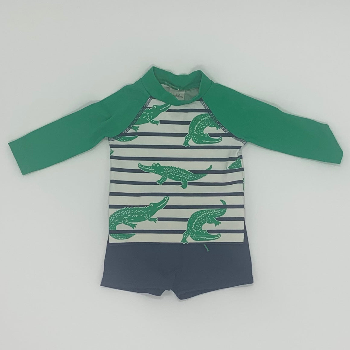 Hardly Worn Boden swimmers set size 3-6 months
