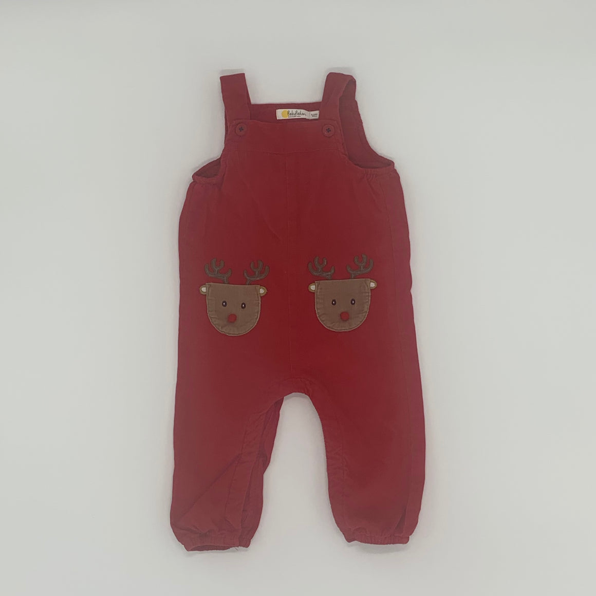Hardly Worn Boden cord dungarees size 6-12 months