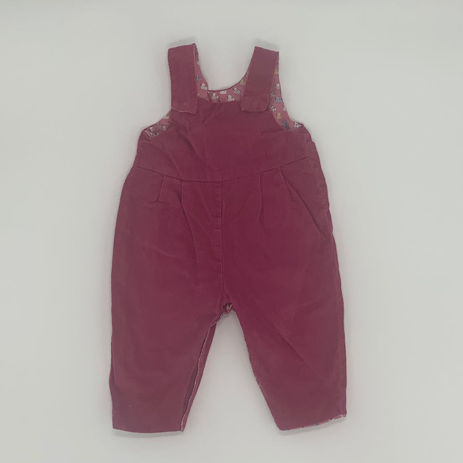 Hardly Worn Seesow dungarees size 6-12 months