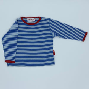 Gently Worn Toby Tiger striped top size 3-4 year