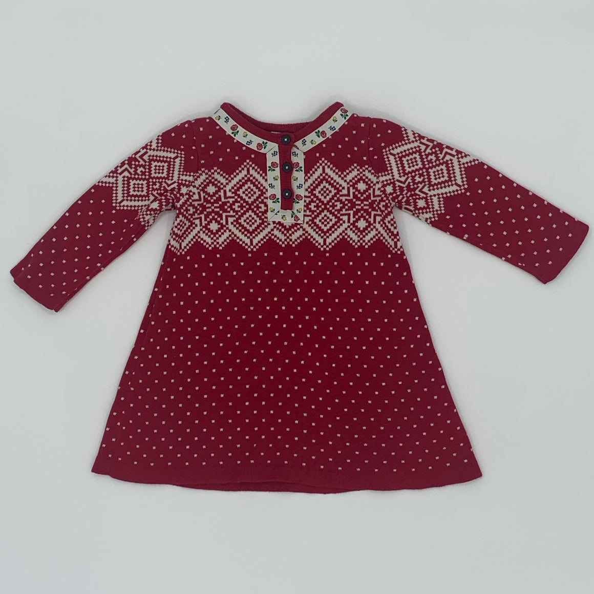 Hardly Worn Hanna Andersson dress size 18-24 months