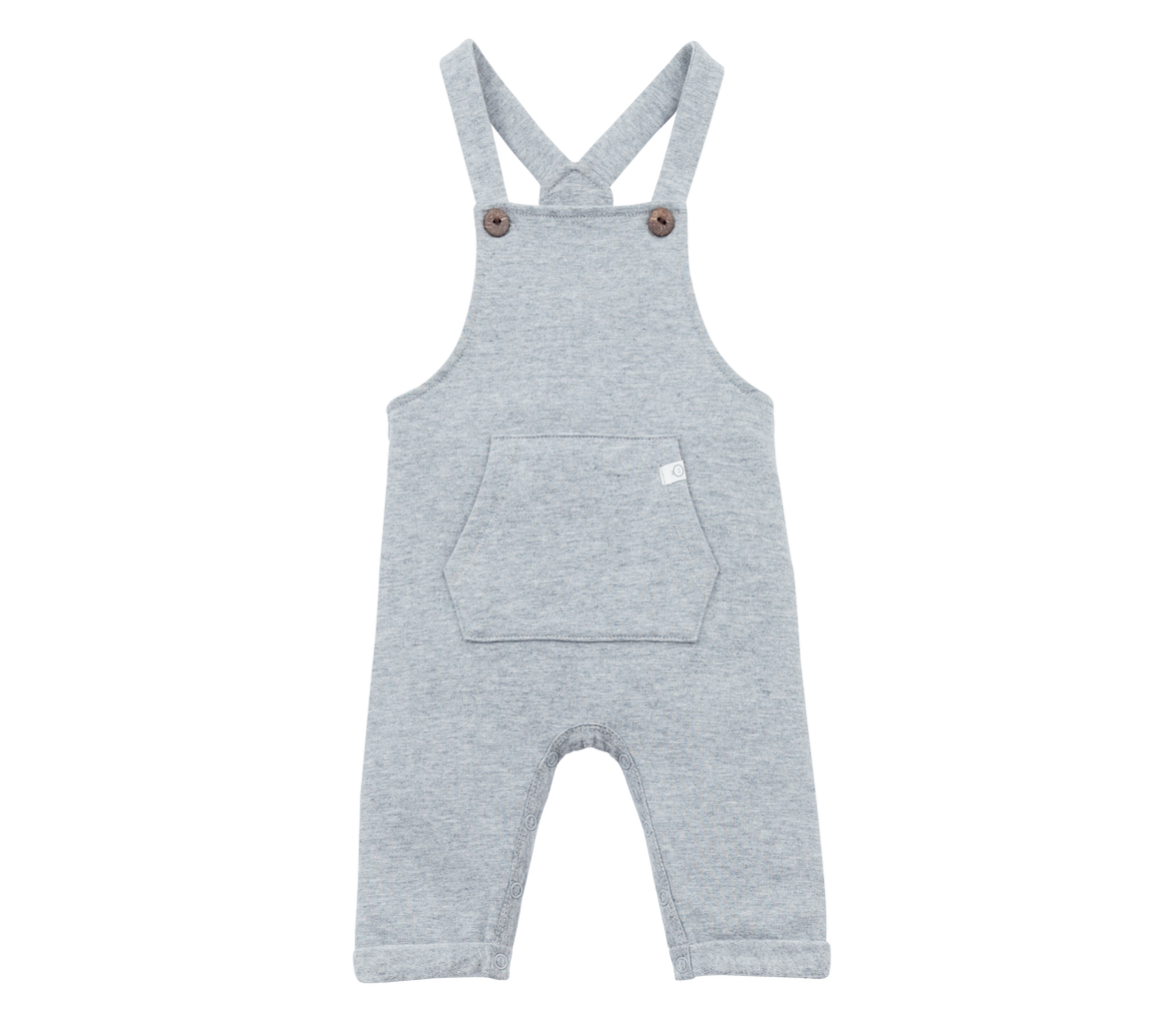 Dungaree in Grey Marl