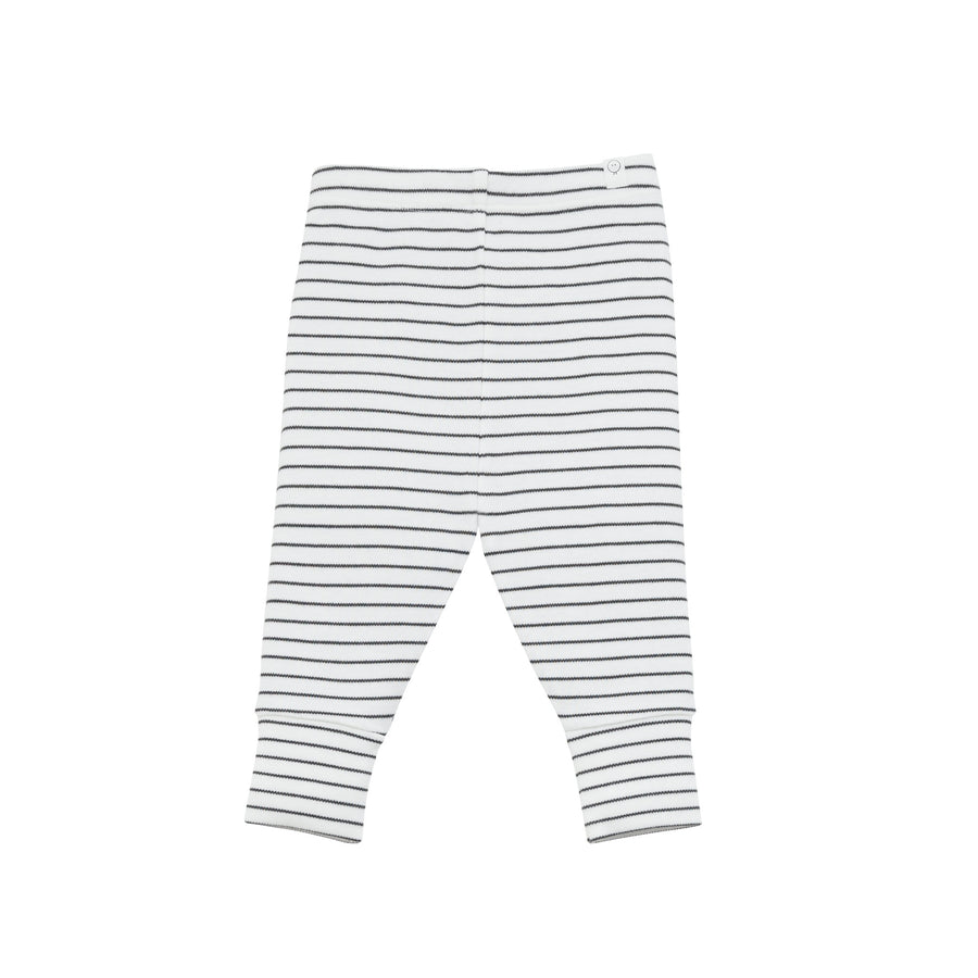 Leggings in Grey Stripe