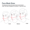 Two Layer + Filter Personalized Face Mask with Drawstring Pouch