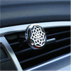 Cute Silver Owl Essential Oils Aromatherapy Car Diffuser Stainless Steel