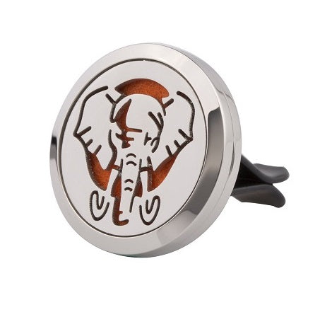Elephant Love Essential Oils Aromatherapy Car Diffuser Stainless Steel