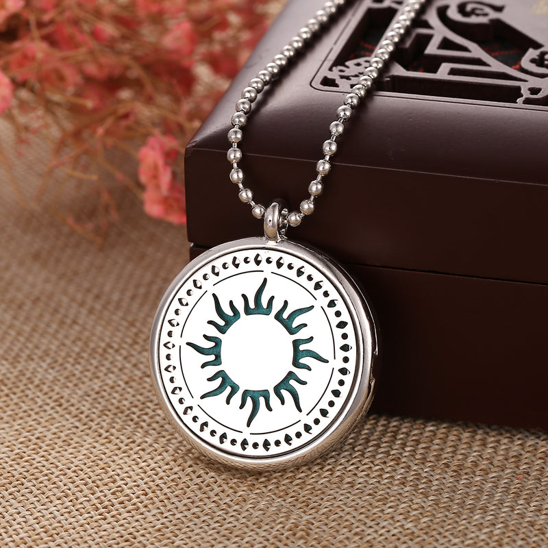 Essential Oil Aromatherapy Pendant Here Comes The Sun