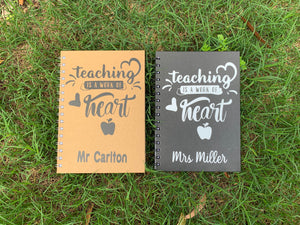 Teacher Personalized Diary
