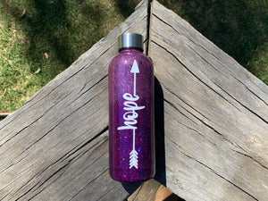 Ombré HOPE Double Walled Drink Bottle