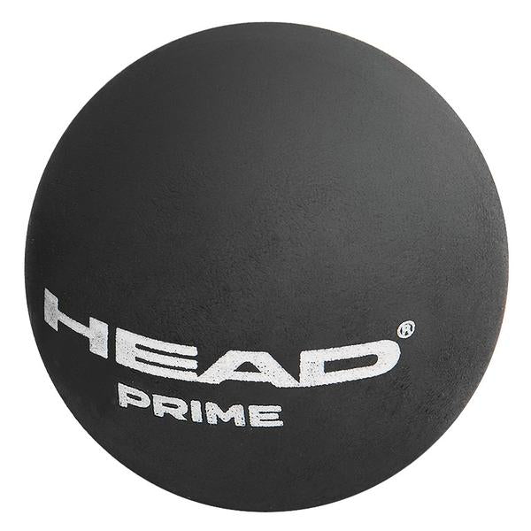 Head Prime Double Yellow Dot Squash Balls Tube of 3 - Smash Nation