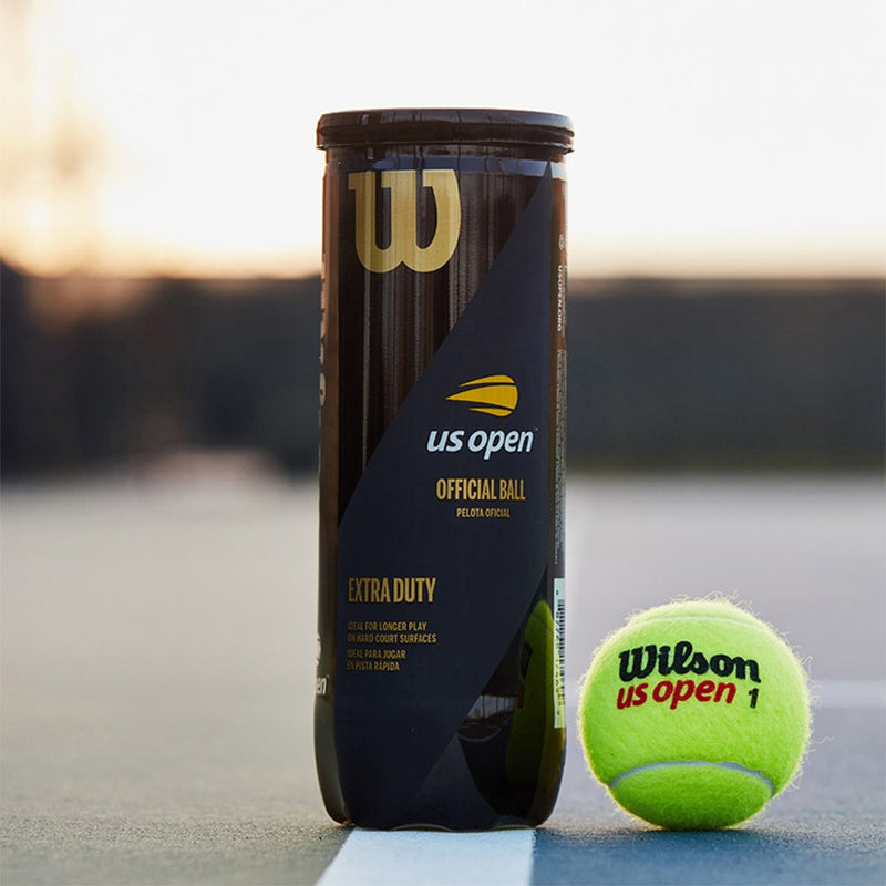 Wilson US Open Extra-duty Tennis ball 24 Can Case